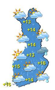 Sääkartta Suomi