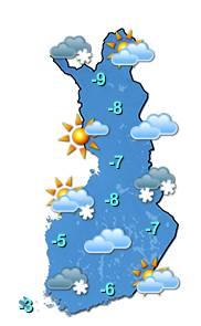 Sääkartta Helsinki