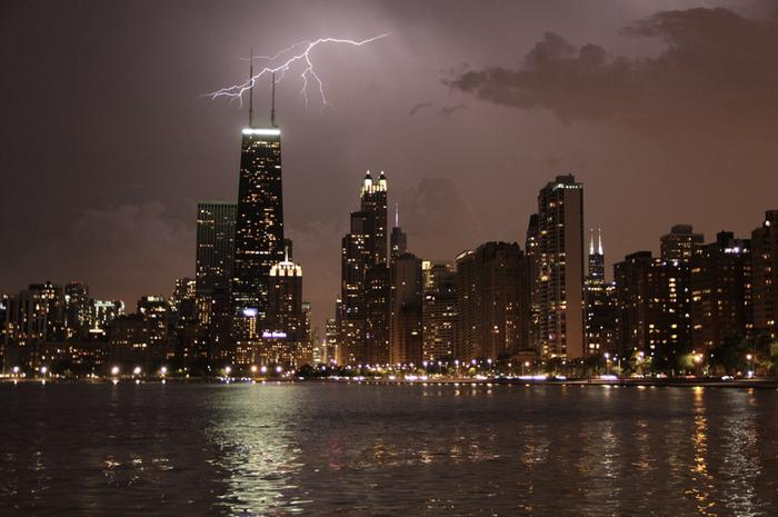 Chicago might see some frequent thunderstorms